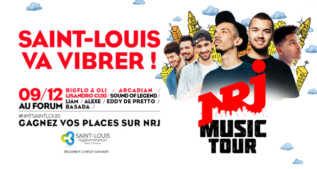 Dj mulhouse nrj for Salon coze paris 16