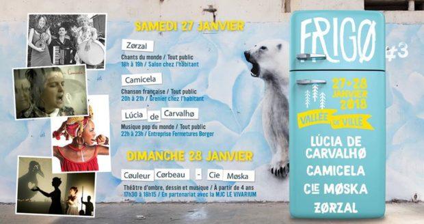 Dans le cadre de son événement hivernal, l'association Décibulles présente les 27 et 28 janvier prochains la 3ème édition de FRIGØ.