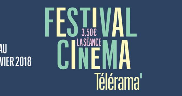 Comme chaque année, le Festival Télérama, qui aura lieu du 24 au 30 janvier pour sa 21ème édition, propose des films choisis par la rédaction et programmés dans 299 salles Art et Essai dans toute la France.