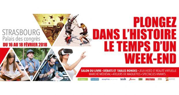 C'est une première en Europe ! Le magazine Historia qui, depuis 1909, cultive la vulgarisation historique, organise avec la Ville de Strasbourg et la Région Grand Est, du 16 au 18 février, le grand rendez-vous des acteurs de l'Histoire vivante, le festival Historia.