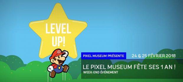 Pour son premier anniversaire, le musée du jeu-vidéo, le Pixel Museum organise un week-end événement, les 24 et 25 février avec de nombreuses animations et surprises !