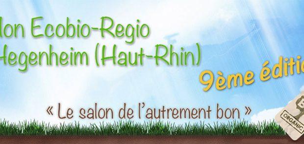 Le salon de l'autrement bon, Ecobio-regio revient pour une 9ème édition, le dimanche 4 mars, de 9h à 18h, à la Salle des Fêtes d'Hegenheim.