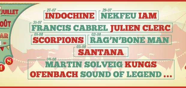 Après l'annonce fracassante en janvier dernier des artistes et groupes qui composeront la programmation de l'édition 2018 de la Foire aux Vins de Colmar, un nouveau nom et pas des moindres vient de compléter l'affiche. Il s'agit du groupe mythique Santana.