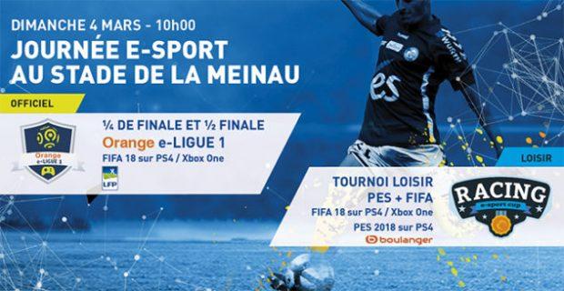 Du nouveau à la Meinau !Le Racing Club de Strasbourg Alsace organise son premier évènement e-sport au Salon des Trophées du stade de la Meinau, le dimanche 4 mars à partir de 10h,, en partenariat avec Powerhouse Gaming.