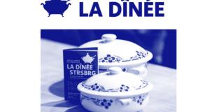 Trois fois par an Accélérateur de Particules organise à Strasbourg un repas collaboratif, appelé La Dînée, dans un lieu surprise pour permettre à 40 convives de découvrir et de soutenir le travail de 3 artistes sélectionnés par un jury de professionnels.