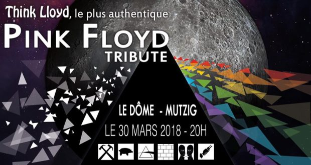 Think LLoyd propose aujourd'hui un tribute de qualité fidèle aux albums des Pink Floyd. Au travers de quatre remarquables heures de musique et d'un show lumière impressionnant, venez retrouver les sensations, les sons et l'ambiance connue à l'époque des grands concerts des Pink Floyd.