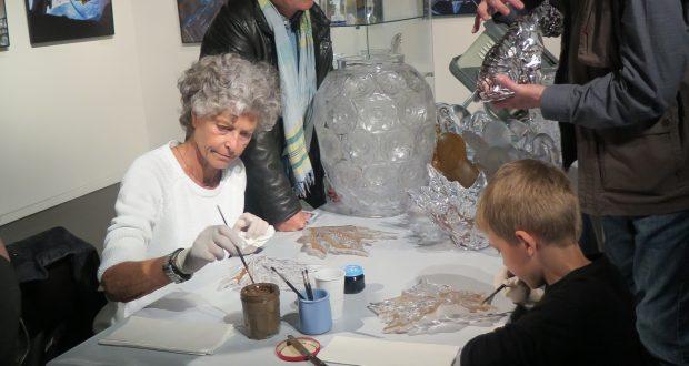 Les 7 et 8 avril, à l'occasion des Journées européennes des métiers d'art, le Musée Lalique accueillera différentes personnes travaillant à la manufacture Lalique.