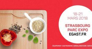 Premier salon professionnel des métiers de bouche dans le Grand Est, EGAST la biennale de l'Equipement, de la Gastronomie, des Services et du Tourisme vous donne rendez-vous pour sa 17e édition du 18 au 21 mars au Parc Expo de Strasbourg.