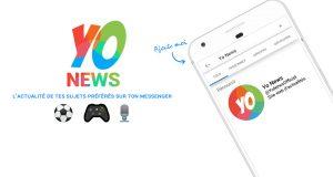 L'application du mois : Yo News, réalisé en partenariat avecLudus Académie, par Ines Sanchez