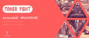MakerFight reprend du service pour une nouvelle édition le 21 avril, à Mulhouse (lieu dévoilé ultérieurement) !