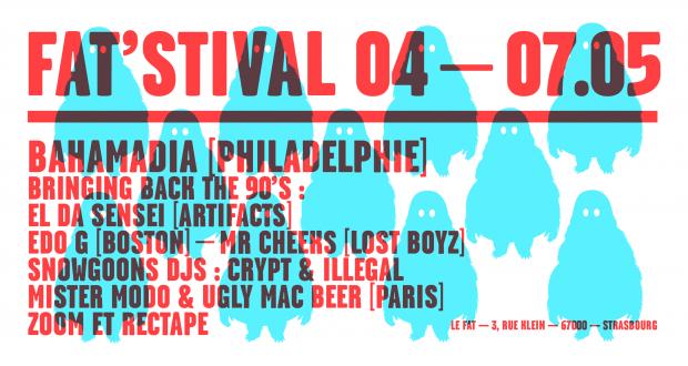 Rendez-vous du 4 au 7 mai au FAT pour aborder la culture Hip Hop sous toutes ses coutures, et de manière festive !