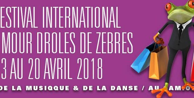 Comme chaque année, la saison des Drôles de Zèbres se clôturera avec son festival international d'humour, du 13 au 20 avril entre la Cité de la Musique et de la Danse et le bar Au Camionneur.