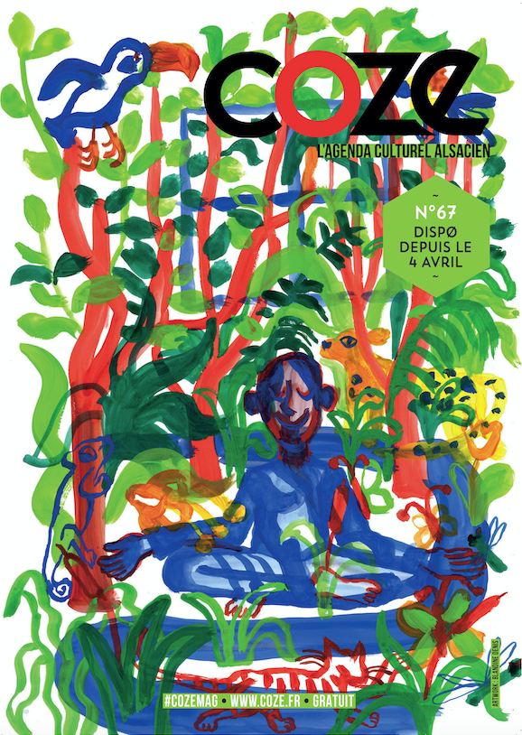 Interview de notre artiste du mois d'avril (Coze Magazine #67), Blandine Denis, illustratrice.