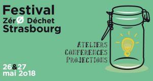 Le groupe associatif Zéro Déchet Strasbourg organise les 26 et 27 mai sa 1ère édition du Festival Zéro Déchet à Strasbourg.