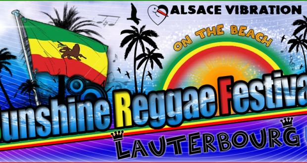 Le Reggae feeling sera à Lauterbourg avec l'édition 2018 du Sunshine Reggae Festival qui se tiendra du 25 au 27 mai sur la Plage des Mouettes.