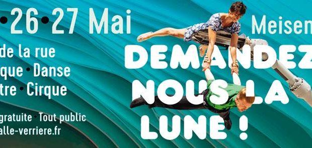 Pour sa douzième édition, le Festival « Demandez-Nous la Lune » se tiendra les 25, 26 et 27 mai dans la Halle Verrière et sur le site verrier de Meisenthal.