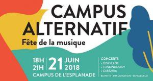 Cette année encore, le campus universitaire strasbourgeois n'échappera pas à l'ambiance festive de la Fête de la Musique.