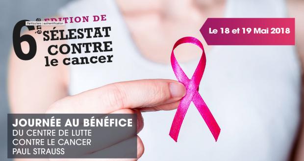 Les 18 et 19 mai prochains, l'association Sélestat Contre le Cancer, en partenariat avec la Commune de Muttersholtz organise la 6e édition de l'événement « Sélestat Contre le Cancer».