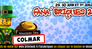 L'exposition Fana'Briques revient, du 29 juin au 1er juillet, pour sa 13ème édition et change de lieu. Après avoir passé plus de 10 ans à Rosheim, l'exposition s'installera au centre de l'Alsace, à Colmar