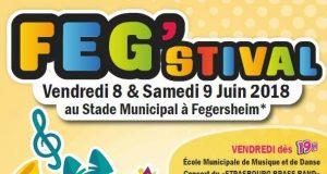 Les 8 et 9 juin, venez découvrir le Feg'stival, à l'occasion de sa 10e édition. Un événement ludique et culturel placé sous le signe de la détente en famille. Parce que les maîtres mots sont convivialité, culture et partage, il fait figure d'événement incontournable chaque été.