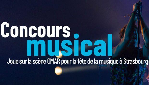 Vous ne connaissez sûrement pas encore OMAR, la première plateforme de financement collaboratif pour les musiciens du Grand Est. C'est normal ! Pour son lancement, Deaf Rock et Izhak, proposent aux musiciens du coin de candidater pour le concours musical organisé le soir de la fête de la musique, sur la scène située place Saint-Pierre-le-Jeune à Strasbourg.