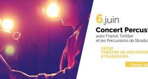 Le mercredi 6 juin, les Percussions de Strasbourg vous invitent à venir découvrir gratuitement le résultat de plusieurs mois de travail des participants aux ateliers Percustra, à l'occasion d'une restitution sous forme de concert.