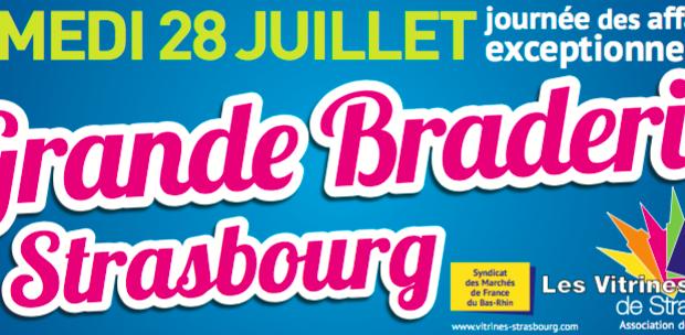Le rendez-vous annuel inévitable de l'été, la Grande Braderie de Strasbourg, revient et célèbrera sa 60e édition le samedi 28 juillet. Organisée par l'association des commerçants «Les Vitrines de Strasbourg», elle se tiendra sur toute la Grande-Île de Strasbourg, en hyper-centre, de 7h30 à 19h30.