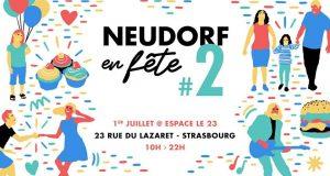 L'événement Neudorf en Fête, organisé par Geteatout Strasbourg, revient pour la seconde édition le 1er juillet à l'Espace 23. Au programme : une quinzaine de spectacles et concerts, des ateliers et animations