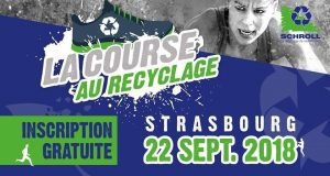 À l'occasion de ses 125 ans, la société Schroll vous propose de participer à un événement sportif : La Course au Recyclage, la première course d'obstacles alsacienne totalement gratuite, qui se tiendra le samedi 22 septembre, tout au long de la journée (horaires de départ au choix).