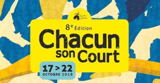 Pour sa 8e édition, qui se tiendra du 17 au 22 octobre, Chacun son Court s'est amusé à décliner le chiffre 8, symbole de l'infini et représenter ce renouvellement perpétuel des oeuvres et des auteurs.