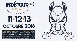 Après l'énorme succès rencontré lors des deux premières éditions, le festival Indétour revient pour un troisième volet, les 11, 12 et 13 octobre !