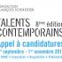 Comme chaque année, la Fondation François Schneider lance un appel à candidatures pour son concours « Talents contemporains ». La Fondation François Schneider a pour ambition de découvrir, accompagner et révéler de nouveaux talents au grand public et de soutenir la création contemporaine sur le thème de l'eau.