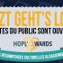 Ça y est ! Les votes pour l'édition 2018 des Hopl'Awards sont ouverts ! Pour soutenir vos acteurs culturels préférés, rien de plus simple : rendez-vous sur www.hoplawards.fr et votez jusqu'au 1er octobre !