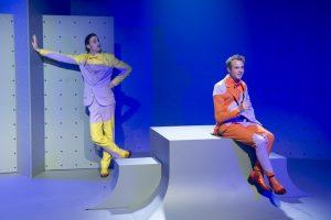 Les 5 et 6 novembre, découvrez le spectacle de Jean-Michel Ribes, Sulki et Sulku ont des conversations intelligentes, avec Romain Cottard et Damien Zanoly.