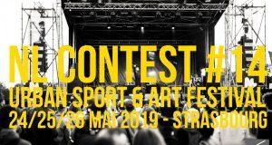 C'est la meilleure nouvelle de la journée ! Le NL Contest by Caisse d'Epargne, leFestival International des Cultures Urbaines, vient tout juste d'annoncer les dates de sa 14e édition... qui se tiendra les24, 25 et 26 mai 2019 au Skate Park de la Rotonde à Strasbourg.
