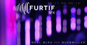 Le Musée Théodore Deck accueille, jusqu'au 24 décembre, l'œuvre « Furtif », imaginée par PIX 314 et mise en musique par Christian Houllé à l'occasion des animations de fin d'année à Guebwiller, Noël Bleu, sur le thème Fantaisie de Noël.