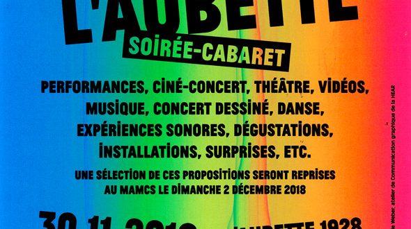 Dans le cadre de Happy20, avec les musées de la ville, Strasbourg Eurométropole et le ballet de l'Opéra du Rhin, en partenariat avec DMC, la Haute Ecole des Arts du Rhin vous invite à une soirée exceptionnelle : la Nuit de l'Aubette.