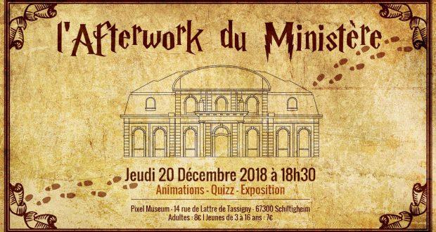 Dans le cadre de l'expositionLes sorciers Fantastiques, quise déroule actuellement, et ce jusqu'au 20 janvier, le Pixel Muséum organise un afterwork thématique, le jeudi 20 décembre, dès 18h30.