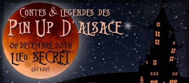 Le samedi 8 décembre, les Pin-Up d'Alsace vous donnent rendez-vous un show burlesque sur le thème des contes et légendes, mais pas que… Une soirée merveilleuse, dans un décor digne des plus belles soirées de l'ambassadeur, marquée par de nombreuses surprises et animations.