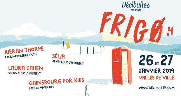 Dans le cadre de son événement hivernal, l'association Décibulles présentera, les 26 et 27 janvier, la 4ème édition de FRIGØ.