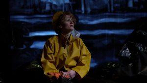 Adaptation du conte des frères Grimm Le Pêcheur et sa femme, Le Garçon et le poisson magique, spectacle de théâtre musical, propose aux enfants une profonde parabole sur la connaissance de soi et sur les dangers qu'il y a à se renier pour des chimères fallacieuses.