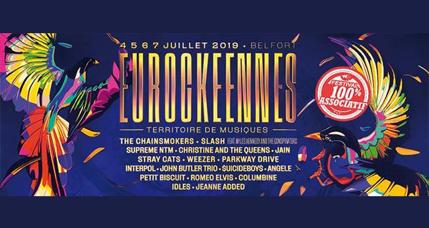 Après l'incroyable fête que fut la 30e édition anniversaire en 2018, les Eurockéennes remettent le couvert du 4 au 7 juillet à Belfort.