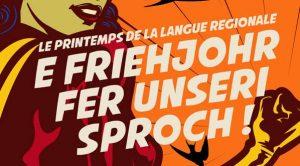 De mars à juin, se tiendra la manifestation E Friehjohr fer unseri Sproch - le Printemps de la langue régionale. Cette année encore, de nombreux événements seront proposés dans toute l'Alsace. Pour débuter les festivités, l'OLCA et la Ville de Strasbourg ont concocté une programmation variée, du 20 au 30 mars.
