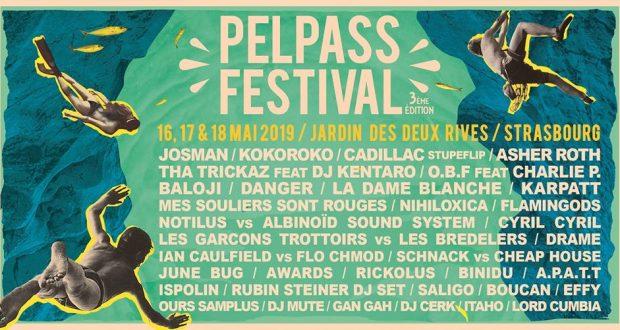 Après l'annonce des premiers noms au mois de janvier, l'association Pelpass vient tout juste de dévoiler les différents noms qui composeront la programmation de la 3e édition du Pelpass Festival, qui se tiendra du 16 au 18 mai au Jardin des Deux-Rives à Strasbourg.