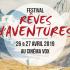 L'association Rêves d'Aventures revient le 27 avril au Cinéma Vox de Strasbourg, avec la 4e édition de son festival éponyme. Au programme : la projection des différents films sélectionnés, en présence de certains des aventuriers ainsi qu'une exposition photo.