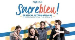 Sacrebleu!, le festival professionnel international d'improvisation anglophone de la Carpe Haute débarque à l'Espace K à Strasbourg pour sa première édition qui se tiendra du 26 au 30 mars.