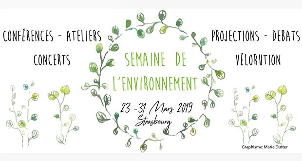 Depuis maintenant 10 ans, Campus Vert Strasbourg organise chaque année la Semaine de l'Environnement au sein de la capitale alsacienne. Il s'agit d'un événement qui vise à sensibiliser tous les publics et plus particulièrement les étudiants et personnels de l'Université, aux enjeux environnementaux et écologiques.