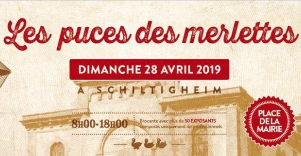 Le 28 avril, la place de la mairie de Schiltigheim se métamorphosera en brocante géante, à l'occasion de la première édition des Puces des Merlettes.