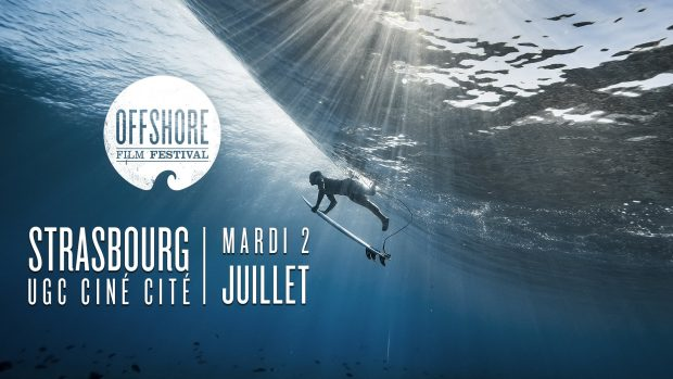 Ça sent l'été ! Les jours pluvieux ont laissé place au soleil, il est donc temps de rêver de sable fin et de belles vagues avec la nouvelle édition du Offshore Film Festival, qui se tiendra le 2 juillet à l'UGC Ciné Cité de Strasbourg.