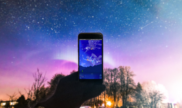 Comme son nom l'indique, SkyView est une application mobile destinée à se divertir en regardant le ciel et plus exactement les étoiles.